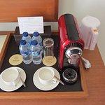 Nescafe Coffee maker in each room
