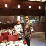 With Master Chef Zubair Qureshi