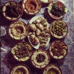 Middle eastern appetisers collection