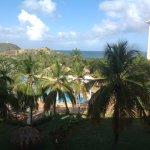 Esta foto la tome desde la ventana de mi habitación una Deluxe doble con vista a la piscina