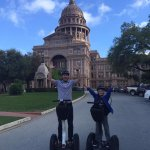 Fun ride around the Capitol with Gliding Revolution