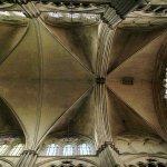 Vue du plafond architectural