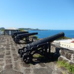 Cannons at Fort George