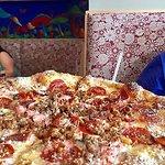 Mighty Meaty Specialty Pizza at Mellow Mushroom