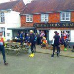 Spring Onion cycle feed stop at Cricketers