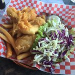 Lingcod fish and chips