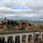 View of Granada and the surrounding countryside.