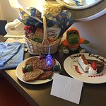 Birthday goodies from hotel!