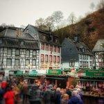 Blick vom Markt zum Rur-Café