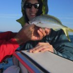 Yellowtail snapper caught by grandson