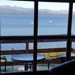 comedor vista al lago