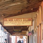 Big Nose Kate's Saloon. You can buy alcohol here.
