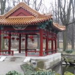 Chinese garden in the park