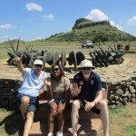 Myself and my two great guides
