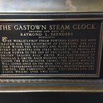 The Gastown Steam Clock!