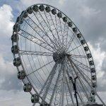 Huge ferris wheel at Malecon 2000