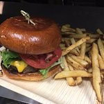 Handcrafted Angus Burgers