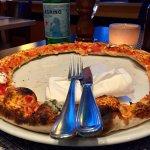 Lecker war sie, die Überraschungspizza a la Chef!! Den Rand habe ich einfach nicht mehr geschaff