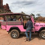 The Pink Jeep..