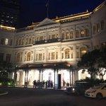 Raffles Hotel entrance