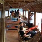 On the party houseboat