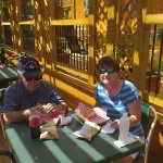 Ask about dining out on the deck next time you are visiting with us!