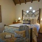 Standard deluxe room with Queen bed.