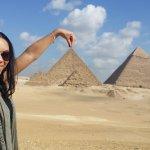 At the Pyramids!