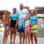 Friendly staff at the Vertana Pool