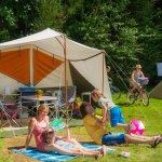 Emplacement nature Camping au clos de la chaume camping vosges