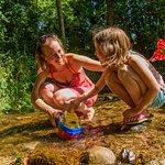 Camping avec ruisseau Camping au clos de la chaume vosges alsace lorraine