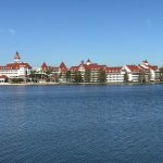 View from bungalow of the Grand Floridian Resort