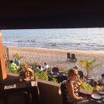 Beachside seating