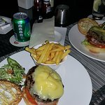 great and delicious burgers