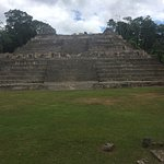 Temple Ruin at Caracol
