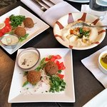 Hommus and Falafel