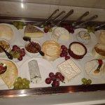 Wybór serów francuskich.
