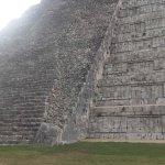 Vista lateral de la pirámide