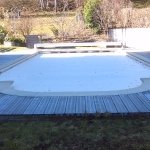 Swimming pool for use in summer