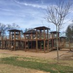 This is only half the playground! Fully accessible and tons of fun for kids of all ages and abil