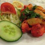 Chicken Tikka starter at Cafe Zam Zam (22/Mar/17).