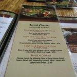 Luch menu