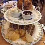 Tea for one - two tier tower