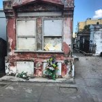 A shot from St. Louis Cemetery