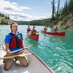 Canoeing Miles Canyon on the Yukon River
