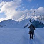 The glacier walk begins