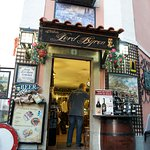 The famous 'Lord Byron' Pub in Sintra