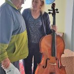 Manager genuinely cares for snowbirds; played cello for snowbird recovering from quadruple bypas