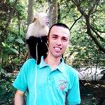 Monkey on your back at Gumbalimba Park