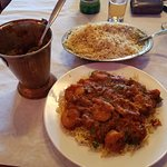 Shrimp Chili Masala & Saffron Rice